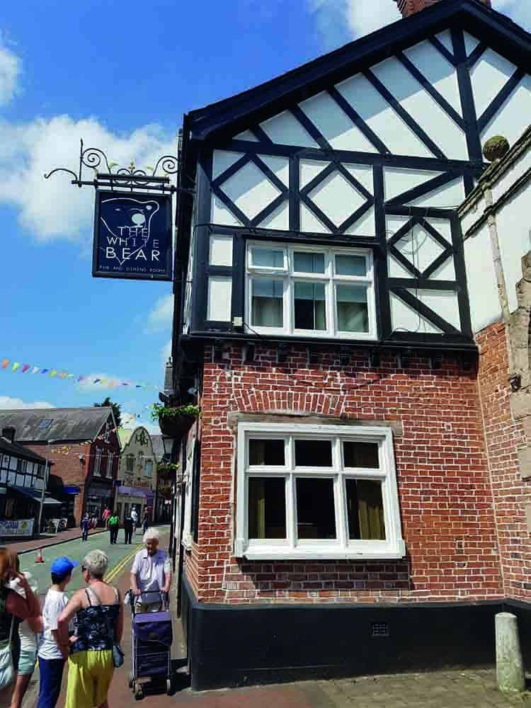 The White Bear Middlewich Fab Festival Pub