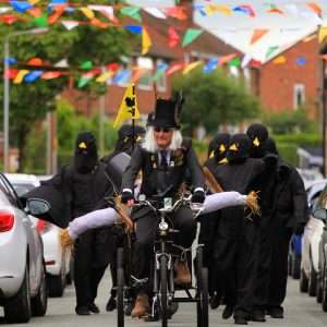 MOULTON CROWS PROCESSION